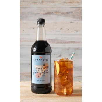 Sweetbird Iced Tea Ροδάκινο Sugar Free 1 λίτρο